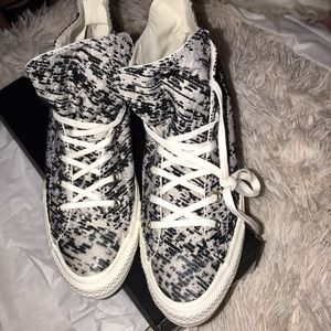 Gemma high top converse shoe